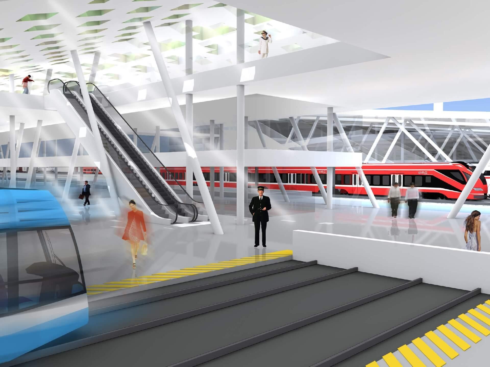 Intermodális Közlekedési Központ vasútállomás