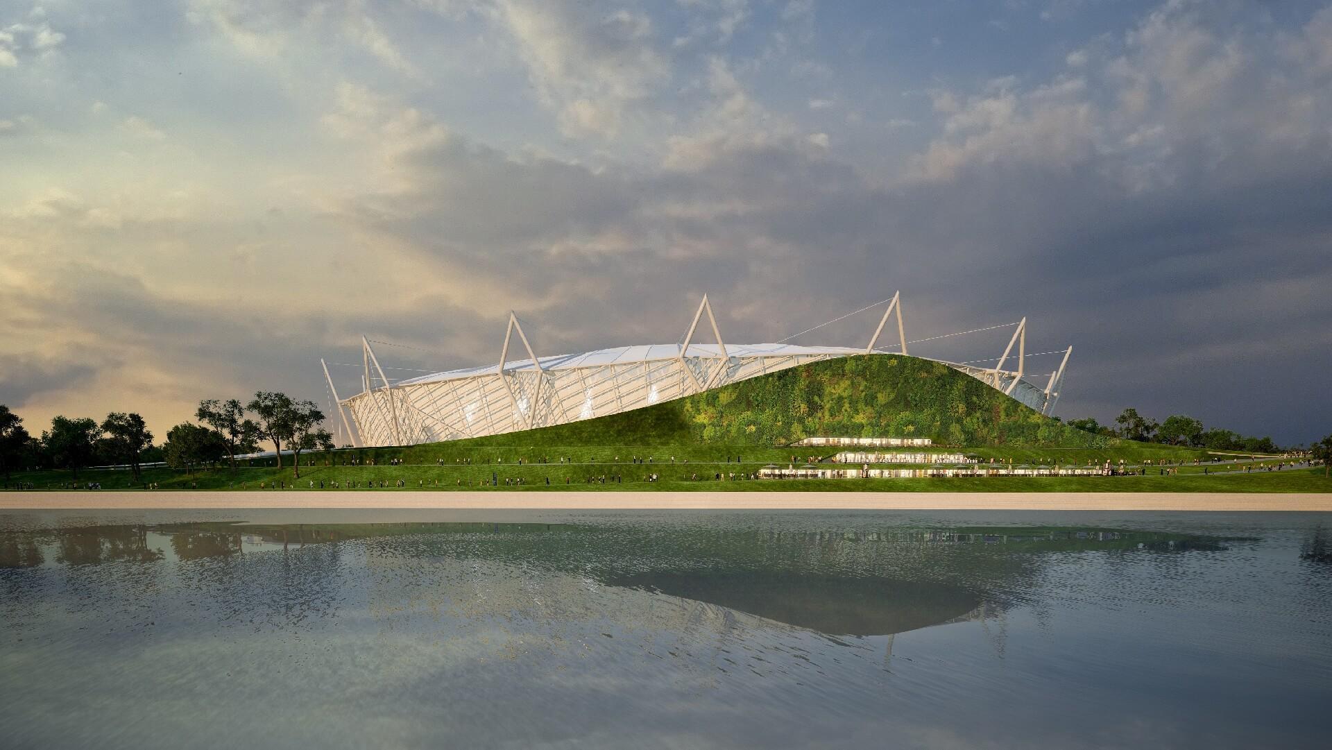 Budapesti Atlétikai Stadion - a zöld hullám