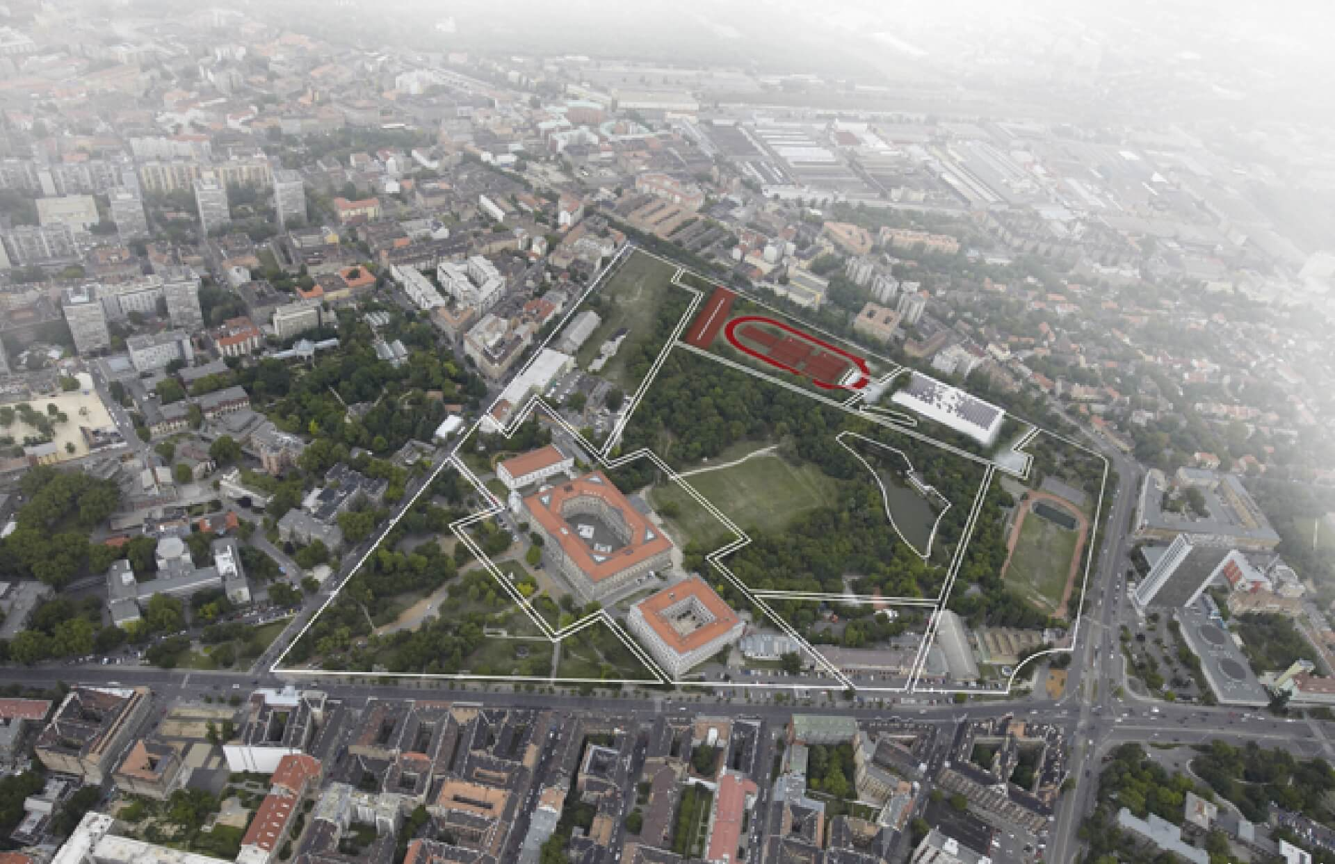 Nemzeti Közszolgálati Egyetem kampusza
