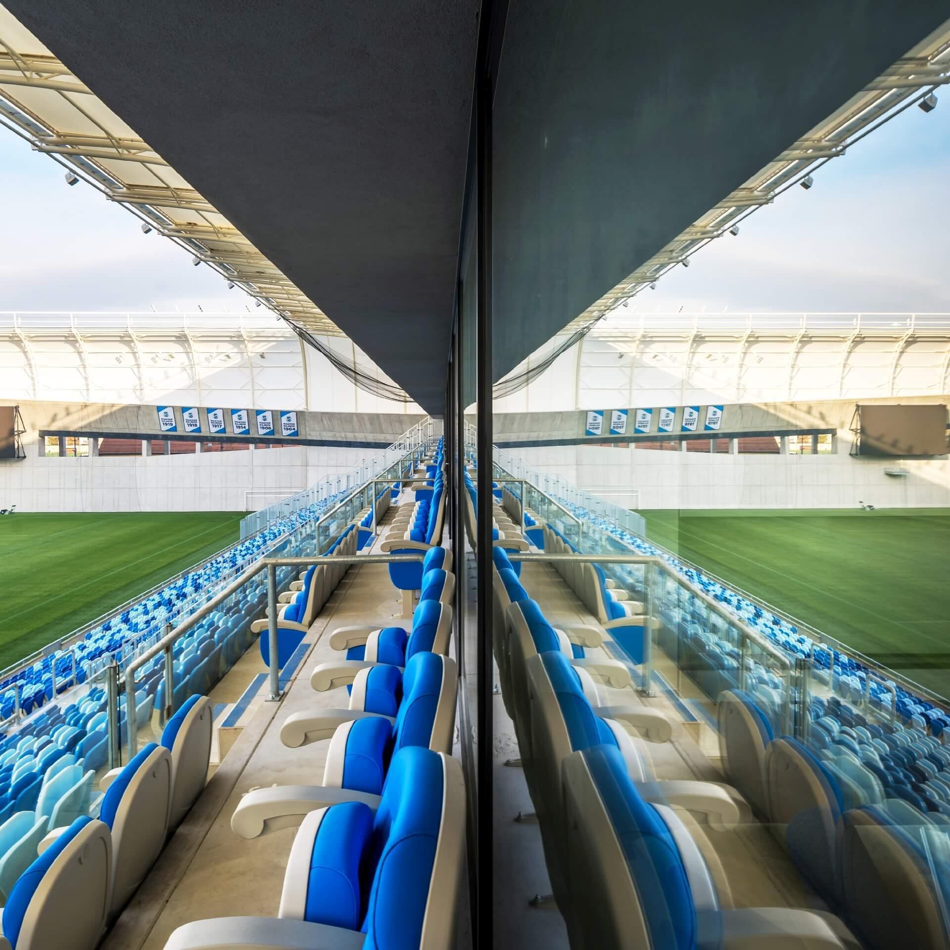 MTK Stadion lelátó részlete