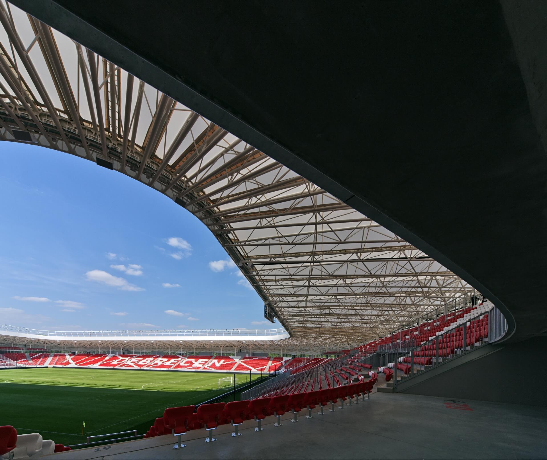 Nagyerdei Stadion lelátó