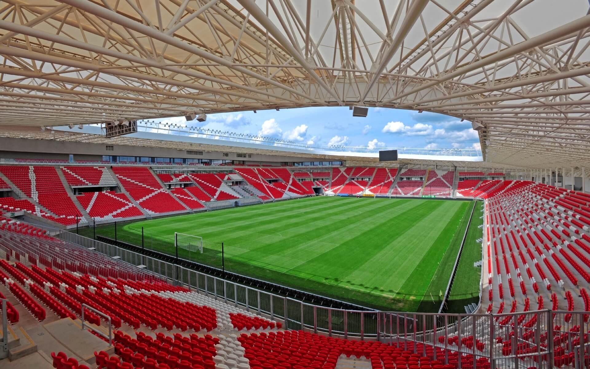 Nagyerdei Stadion szerkezete