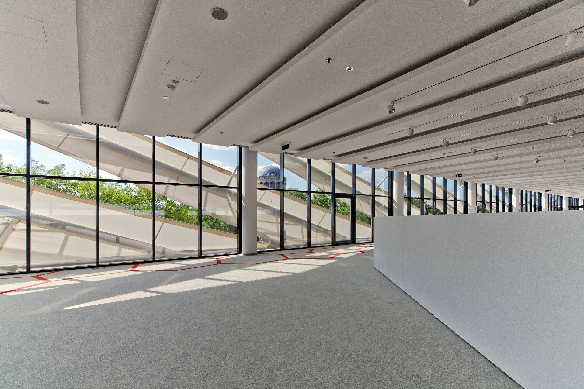 Nagyerdei Stadion belső tere